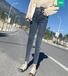 河北女式牛仔褲批發新款女式牛仔褲批發便宜牛仔褲批發