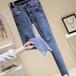 上海女士牛仔褲批發新款女士牛仔褲批發廠家庫存牛仔褲批發