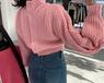 天津女士毛衣批發時尚毛衣新款毛衣不秋冬毛衣清貨毛衣