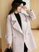 湖南女士呢子大衣中長款女式大衣新款呢子大衣廠家女外套批發