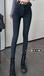 上海女士彈力加厚牛仔褲女士厚款牛仔褲批發女士加絨牛仔褲