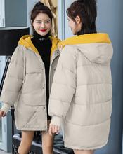 内蒙古女装棉服加厚棉服批发新款女装长款棉服批发图片