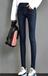 吉林女士牛仔褲加厚牛仔褲新款牛仔褲冬季加絨牛仔褲服裝批發