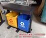 户外垃圾桶果皮箱钢木垃圾桶环卫分类垃圾桶小区公园室外垃圾箱