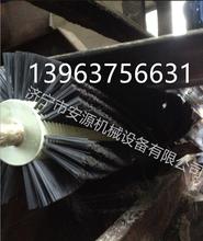 机械式毛刷清扫器B800被动滚刷清扫器电动清扫器图片