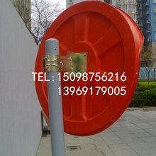 广角镜什么价格停车场安全凸面镜道路转弯广角镜车库路桩弹力柱