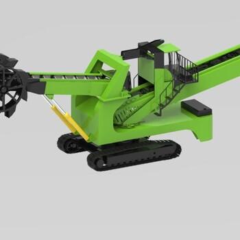 山东履带式斗轮取料机哪家好,斗轮装车机款式时髦