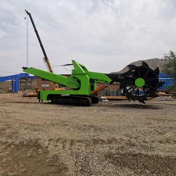 斗輪裝車機哪家好專業的履帶式斗輪取料機供應商_駿翔礦山機械