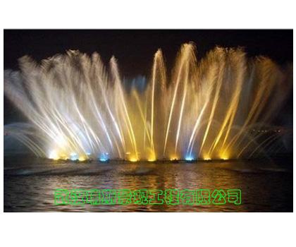 音乐喷泉设计为城市带来个性独特的美丽喷泉水景-音乐喷泉控制系统图片
