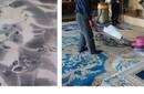 南京清洗会所地毯价格清洗宾馆地毯咨询各种地毯清洗消毒图片