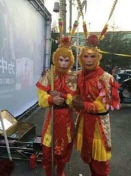 北京公司晚会表演变脸花式调酒正装魔术