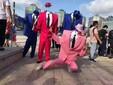 北京气球小丑充气小丑人巡游图片