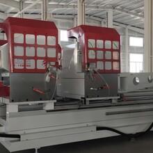 做鋁型材數控鉆銑床廠家/吉林斷橋鋁門窗加工設備一套幾臺圖片