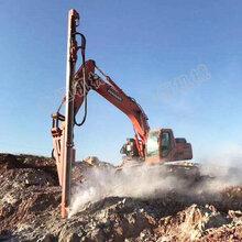 直销挖改潜孔钻机冲击式挖机改装凿岩机挖改凿岩钻厂家直销图片