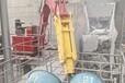 上海固定式無線搖控式液壓破碎機,固定式破碎站