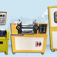 XH-406B橡膠成型硫化機、平板壓片機、小型實驗30T自動平板硫化機圖片