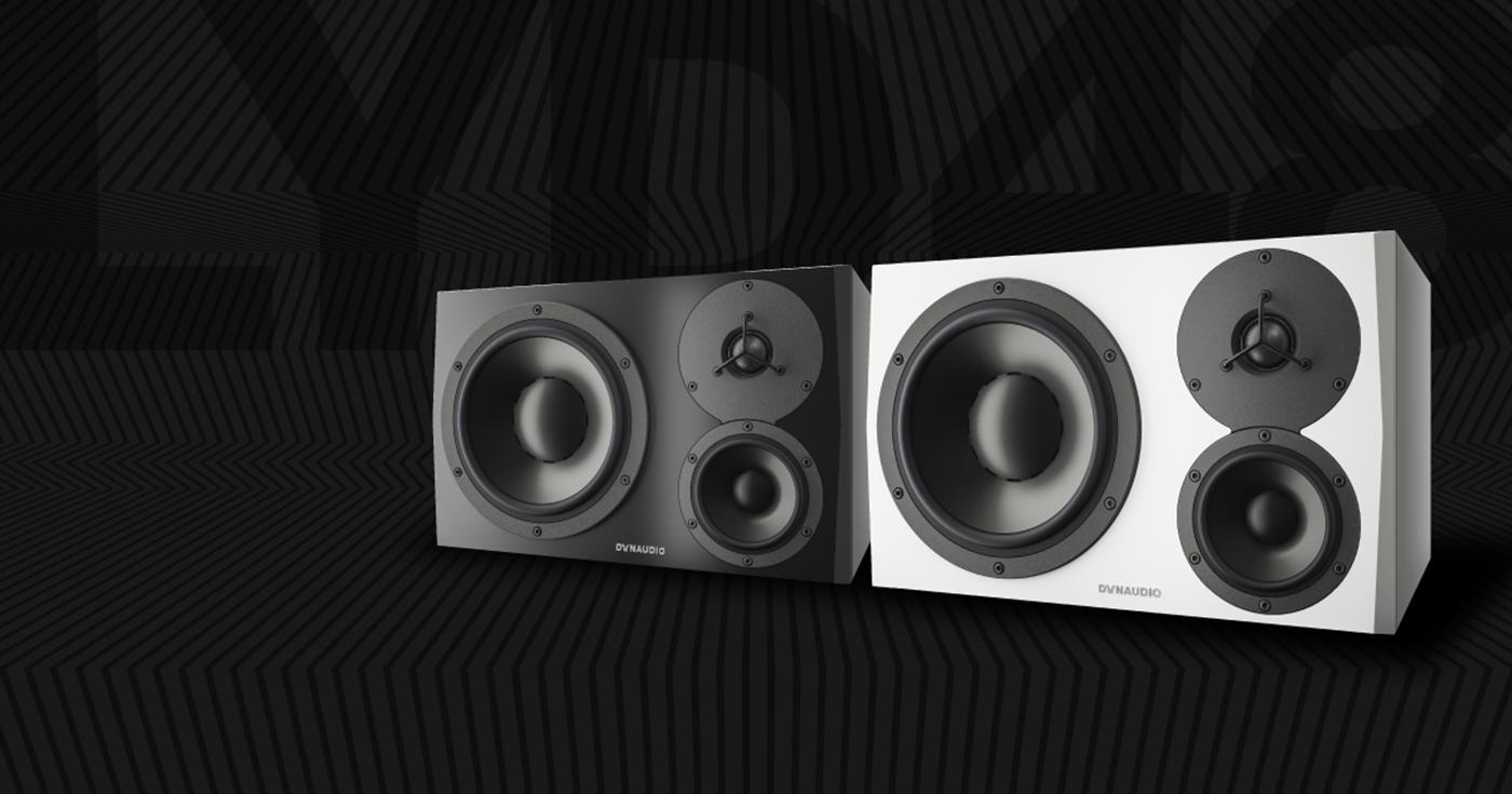 DynaudioLYD48三分频有源监听音箱
