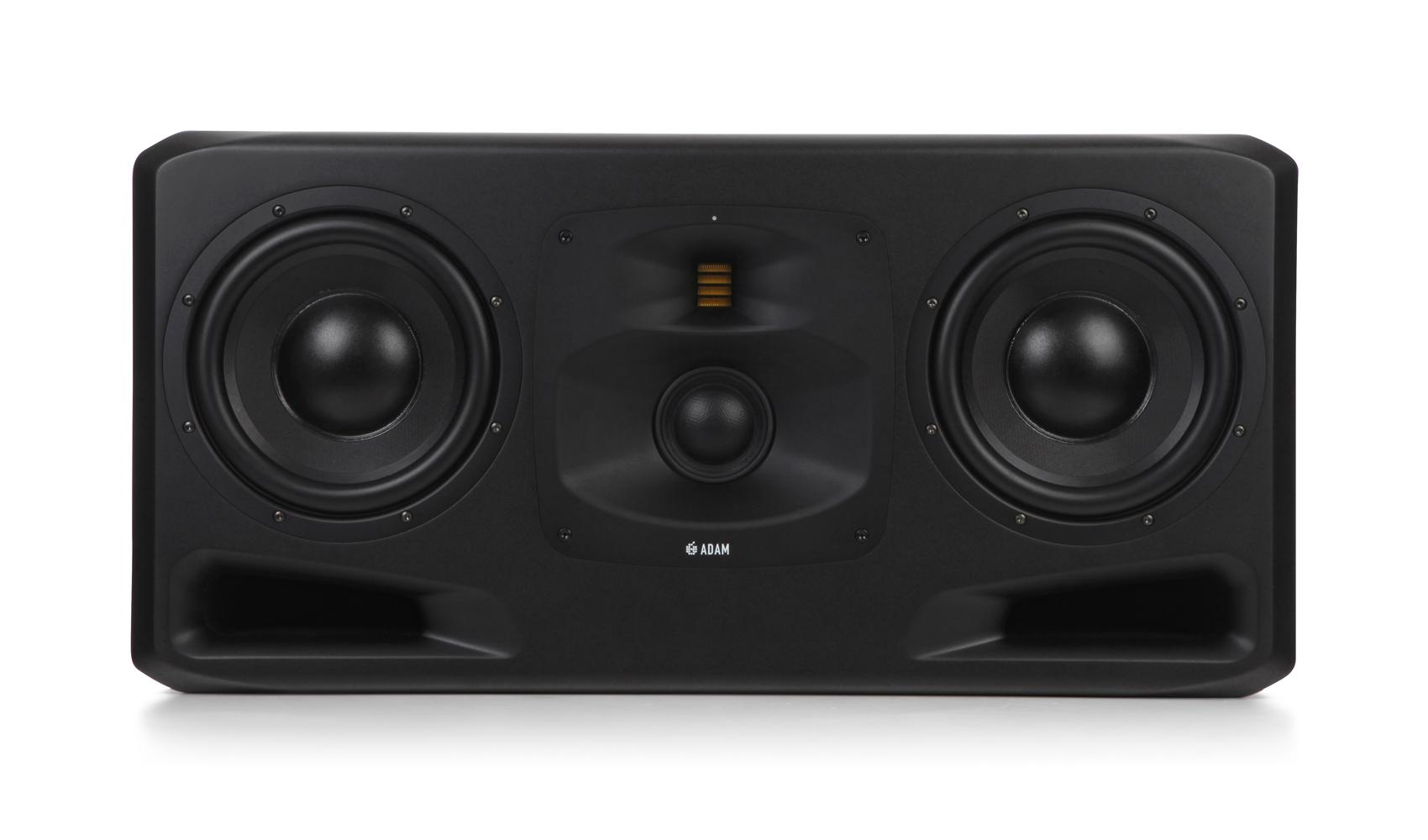 ADAMS5H双10寸大型录音棚有源监听音箱