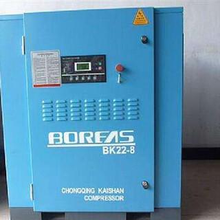 開山熱銷機型22千瓦永磁變頻螺桿空壓機BMVF22促銷活動現場試機圖片6