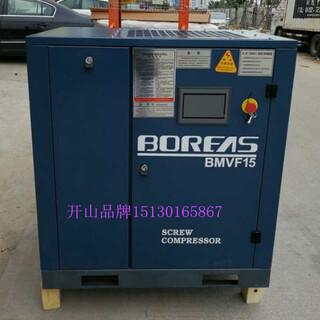 開山熱銷機型22千瓦永磁變頻螺桿空壓機BMVF22促銷活動現場試機圖片4