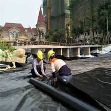 辽宁屋面种植1.0mm土工膜的搭接与焊接图片