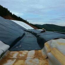 贵州堤坝护坡国标hdpe土工膜的搭接与焊接图片