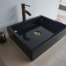 厂家定制大理石台盆洗手盆图片