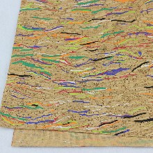 厂家直销背胶软木墙纸彩色软木纸可DIY订制免费拿样图片