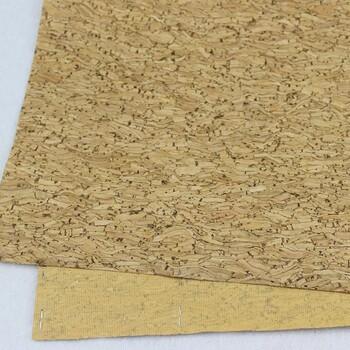 厂家直销女包专用彩色软木布丝印软木布可定制欧盟环保