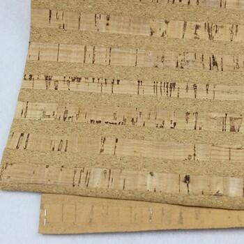 惠州软木革工厂家居用品专用软木革烫金软木革现在充足