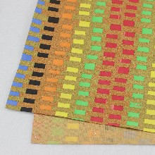 重慶軟木廠家直銷彩色軟木布禮品包裝專用軟木布免費拿樣圖片