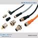 M12工业视觉传感器连接器2芯-8芯