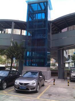 蓝色护栏夹胶玻璃