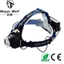 厂家批发led充电头灯户外探明强光远射钓鱼灯led头戴头灯图片