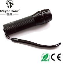 厂家直销led充电手电筒强光变焦电筒户外防身骑行自行车前灯图片