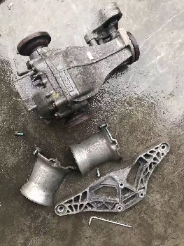 08款奧迪A6L后差速器,二手拆車件