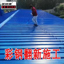 彩鋼翻新漆施工欄桿鐵門施工彩鋼翻新專用漆圖片