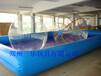 室外大型充气游泳池水上游乐产品供应