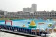 迎接暑假的娱乐设施水上乐园,水上冲关是再好不过的