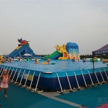 河北夏日亲子水上游乐项目支架游泳池不可缺少