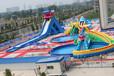夏季游樂產品支架游泳池水樂園三樂牌