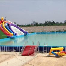 供应全国水上乐园项目热卖款支架游泳池