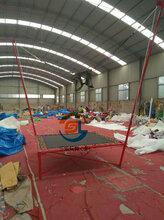 儿童游乐充气蹦床和钢架蹦床哪个经营方便图片
