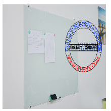 高档大气上档次永久使用会议室培训学校专用白板-武汉磁性玻璃白板图片