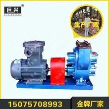 现货供应防爆铜转子LC38高粘度罗茨油泵皮带轮减速稠油转子泵图片