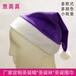 厂家定做成人圣诞帽优质短毛绒可以加logo的彩色圣诞帽大家都喜欢