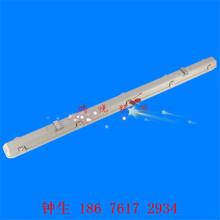 北京LED三防灯具低价钱批发现货1.2米带应急电池LED工厂灯单支双管图片