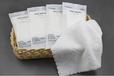酒店餐飲一次性純棉毛巾定制餐飲濕巾定制
