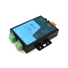 工業級CAN總線光纖轉換器,廣成科技光纖轉can模塊GCAN-208圖片