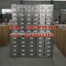 不锈钢中药柜生产厂家梧州北海中药铺成套家具现货直销
